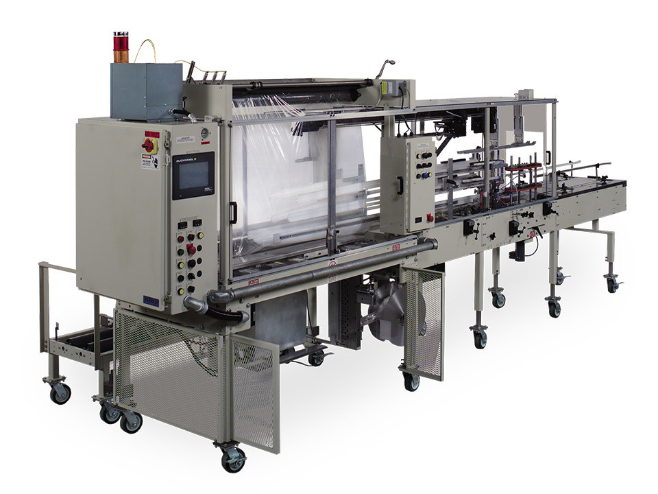 Tray Counter Tray Loader - TCL - Automatic Vertical Bagging Machines