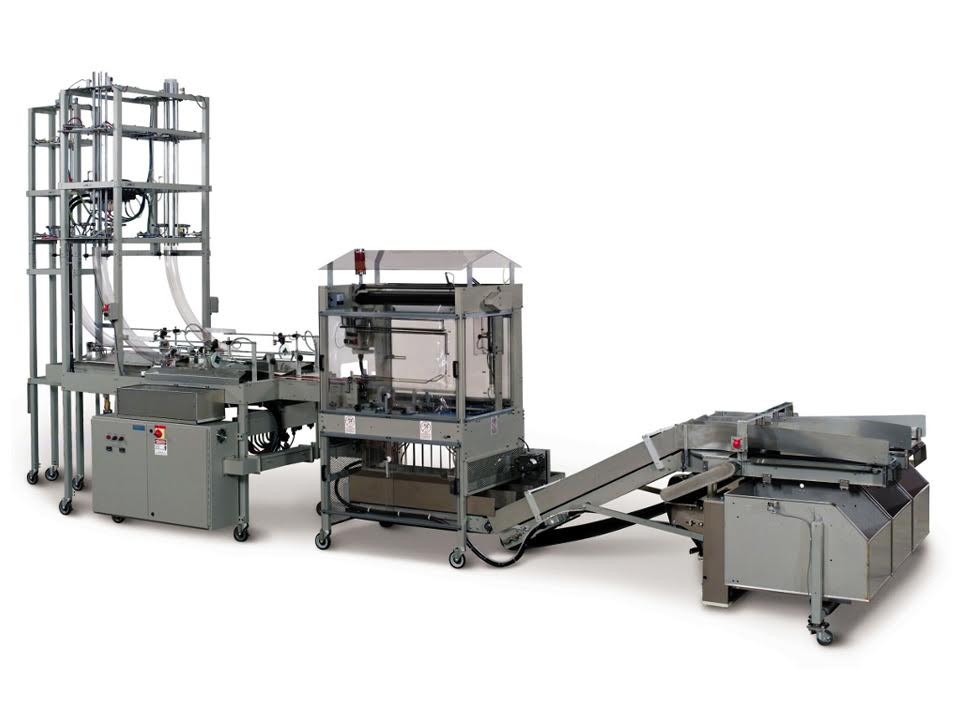 Vertical Cup Counter Loader - VCCL - Automatic Vertical Bagging Machines