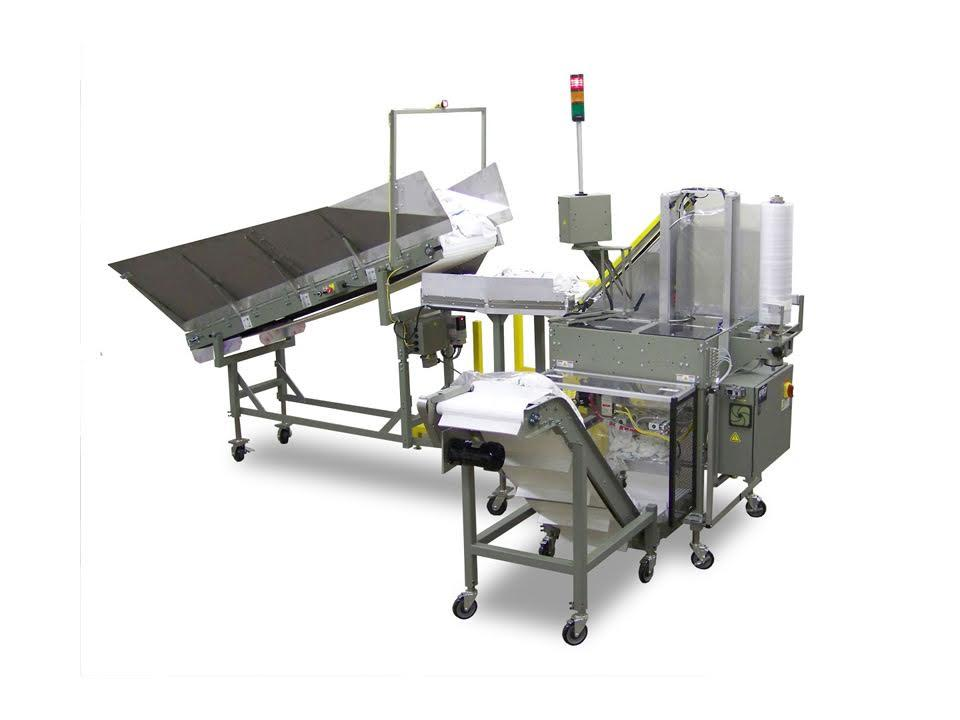 Vertical laundry bagging system